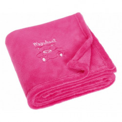 oogbal 12 cm wit/blauw