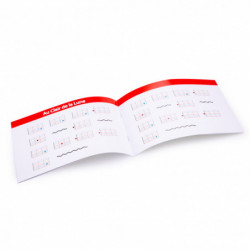 knijpfiguur vis 12 cm zwart