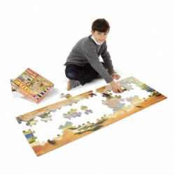 prinses met schatkist geel...
